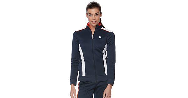 Fila Sports Towel: Women's FILA SPORT® Zip Colorblock Track Jacket