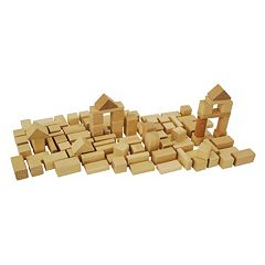 Eichhorn Heros 50 pc Natural Wooden Blocks