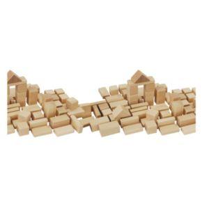 Eichhorn Heros 50-Piece Natural Wooden Blocks