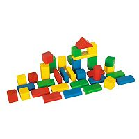 Eichhorn Heros 50-Piece Color Wooden Blocks