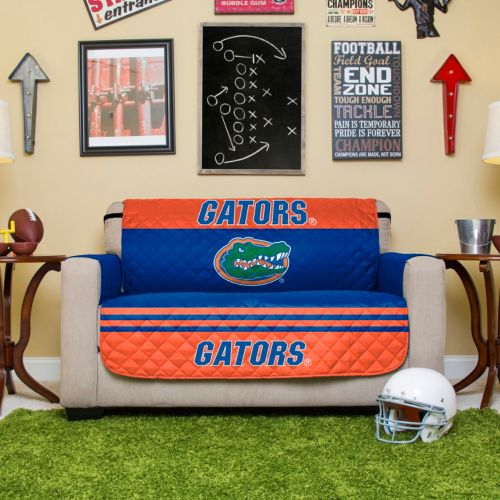 Florida Gators Quilted Loveseat Cover