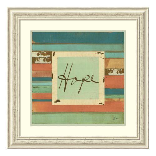 """""""Hope"""" Framed Wall Art"""