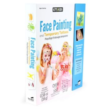 SpiceBox Kits For Kids Face Painting & Temporary Tattoos Kit