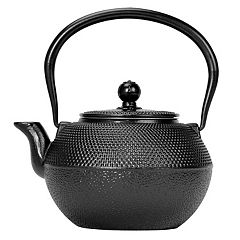 Primula Hammered 40-oz. Cast-Iron Tea Kettle
