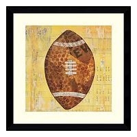 Play Ball II Football Framed Wall Art