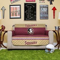 Florida State Seminoles Quilted Loveseat Cover