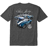 Big & Tall Newport Blue Shelby Car Tee