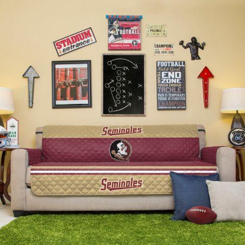 Florida State Seminoles Quilted Sofa Cover