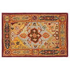Safavieh Heritage Ghent Framed Floral Wool Rug