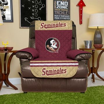 Florida State Seminoles Quilted Recliner Chair Cover