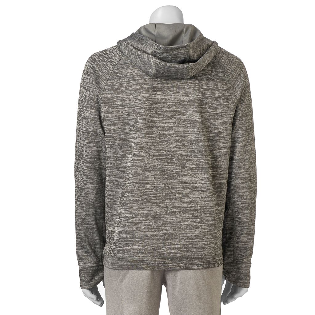 Men's HKE Classic-Fit Space-Dyed Performance Fleece Hoodie