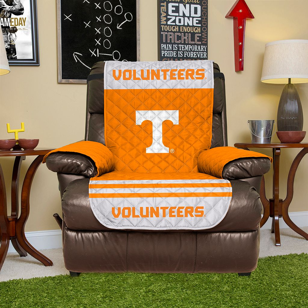 Tennessee Volunteers Quilted Recliner Chair Cover