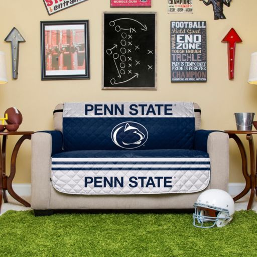 Penn State Nittany Lions Quilted Loveseat Cover