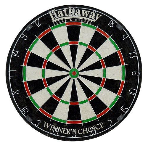 Hathaway Winners Choice 18-Inch Sisal Fiber Bristle Dartboard