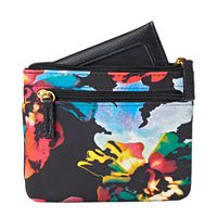 Buxton Pik-Me-Up Floral Coin Pouch