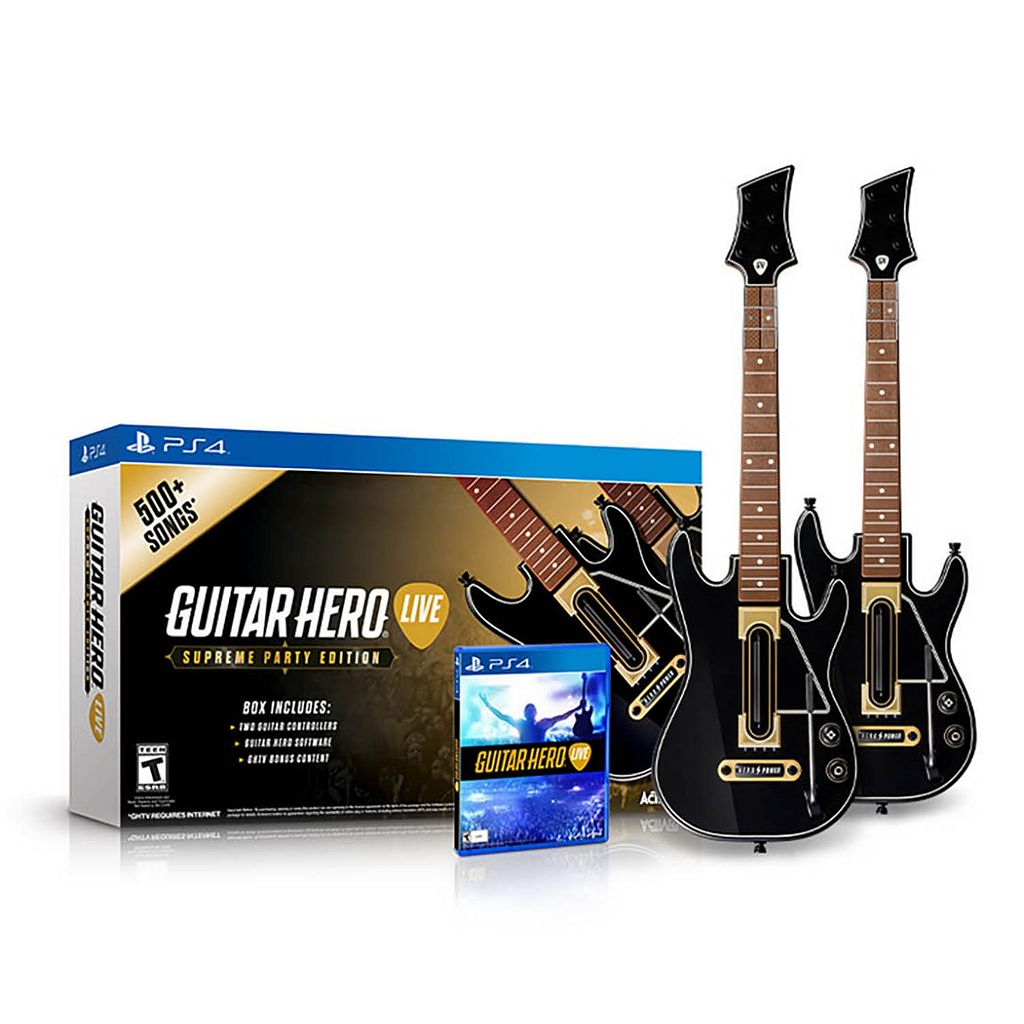 Guitar Hero Live Guitar Bundle for PS4