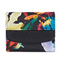 Buxton Pik-Me-Up Floral Mini Wallet
