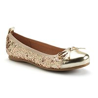 SO® Sunny Girls' Ballet Flats