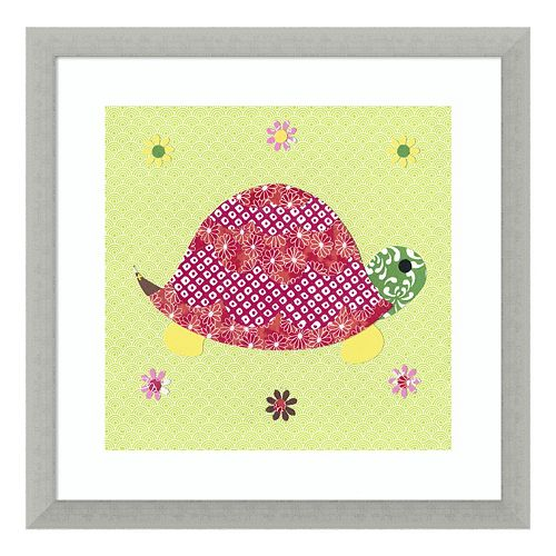 Tortoise Framed Wall Art