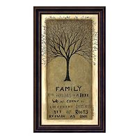 Family Tree Framed Wall Art