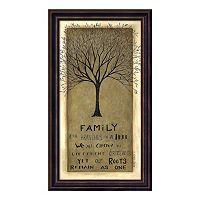 Family Tree Framed Wall Art