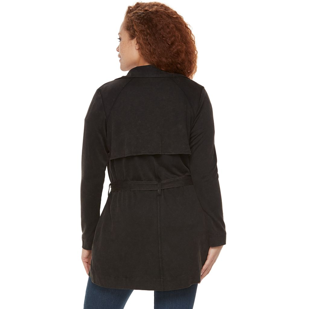Plus Size Rock & Republic® Draped Cardigan