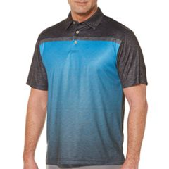 Big & Tall Grand Slam Classic-Fit Colorblock Motionflow Performance Golf Polo