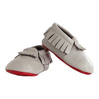 Baby Itzy Ritzy Moc Happens Moccasin Crib Shoes