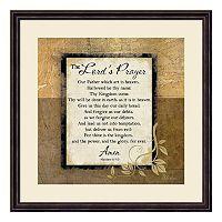 The Lord's Prayer Framed Wall Art