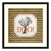 "Halloween ""Boo!"" Framed Wall Art"