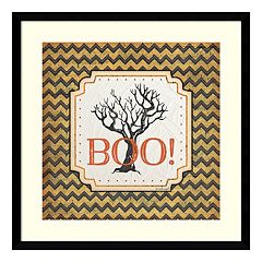 Halloween 'Boo!' Framed Wall Art