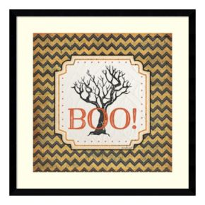 "Halloween ""Boo!"" Framed Wall Art"