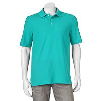 Big & Tall Croft & Barrow® Performance Pique Polo