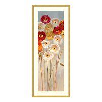 Follow The Sun II Poppies Framed Wall Art