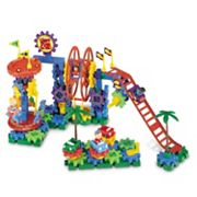 Learning Resources Gears! Gears! Gears! Dizzy Fun Land Motorized Building Set