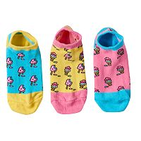 Girls 4-9 Little Miss Matched 3 pkScented Liner Socks