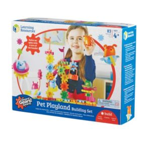 Learning Resources Gears! Gears! Gears! Pet Playland Building Set