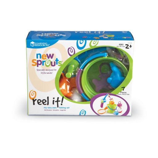 Learning Resources New Sprouts Reel It! Fishing Set