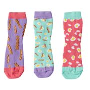 Girls 4-9 Little Miss Matched 3 pkScented Anklet Socks