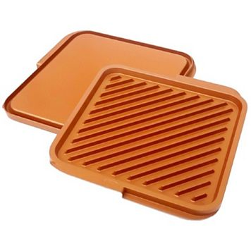 As Seen on TV Gotham Steel Nonstick Ceramic Double Grill