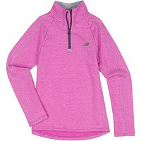 Girls 4-6x New Balance Performance Mockneck 1/4-Zip Pullover