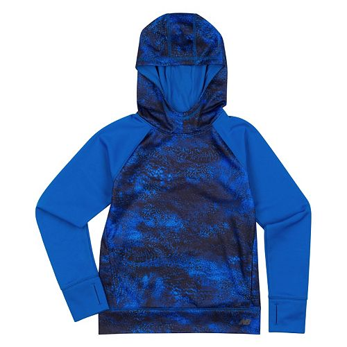 Girls 4-6x New Balance Performance Abstract Hoodie