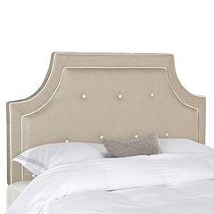 Safavieh Tallulah Arched Button Tufted Headboard