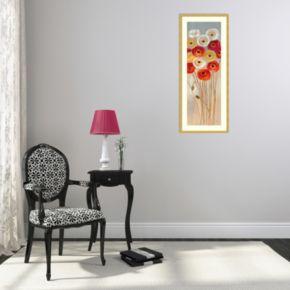 Follow The Sun I Poppies Framed Wall Art