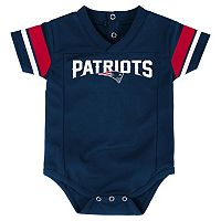 Infant New EnglandPatriots Jersey Bodysuit
