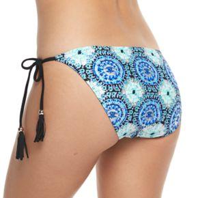 Mix and Match Medallion Foiled Bikini Bottoms