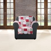 Sure Fit Heirloom Cottage Patchwork Chair Slipcover