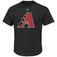 Men's Majestic Arizona Diamondbacks Official Logo Tee