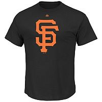 Men's Majestic San Francisco Giants Official Logo Tee