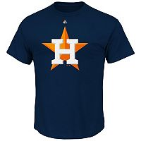 Men's Majestic Houston Astros Official Logo Tee